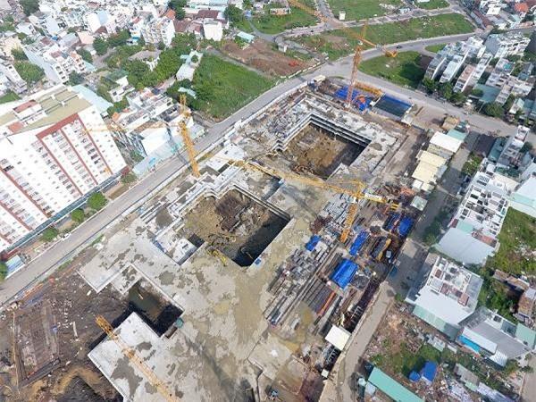Dự án gần xây xong phần móng mới bị phát hiện