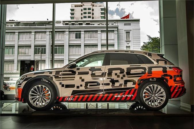 Can canh SUV chay dien Audi e-tron dau tien ve Viet Nam-Hinh-2