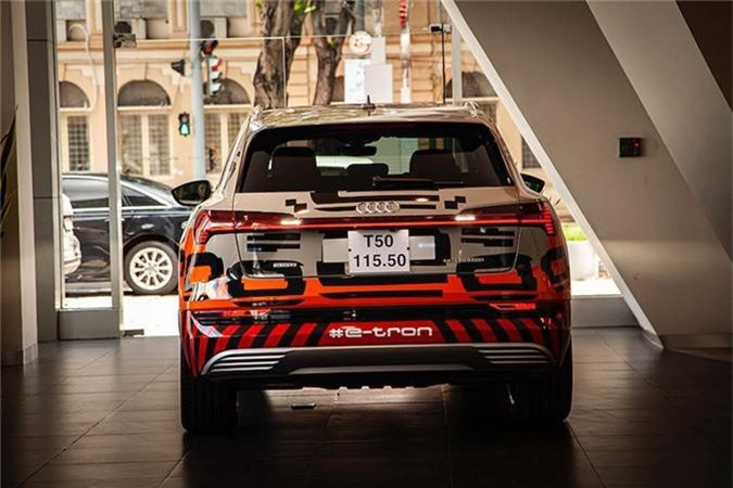 Can canh SUV chay dien Audi e-tron dau tien ve Viet Nam-Hinh-4