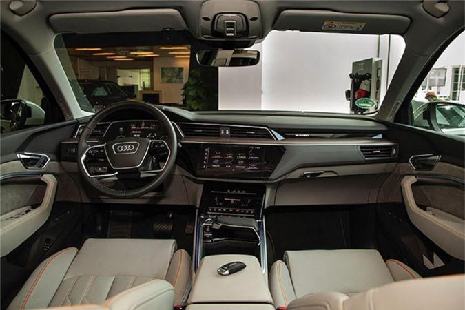 Can canh SUV chay dien Audi e-tron dau tien ve Viet Nam-Hinh-6