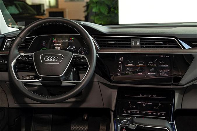 Can canh SUV chay dien Audi e-tron dau tien ve Viet Nam-Hinh-7