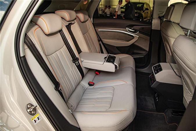 Can canh SUV chay dien Audi e-tron dau tien ve Viet Nam-Hinh-9