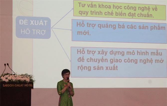 khả năng thuyết trình (đối với vòng chung kết) của các Startup (Ảnh: VH)