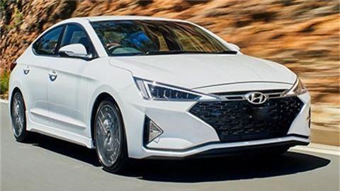 Hyundai Elantra Sport 2019.