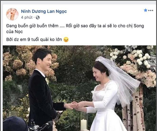 Biết tin Song Joong Ki và Song Hye Kyo ly hôn, sao Việt phản ứng: Người khóc ròng, kẻ bàng hoàng không tin vào tình yêu - Ảnh 1.