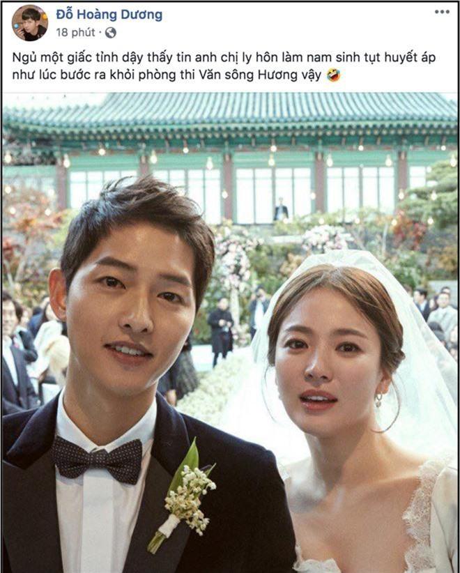 Biết tin Song Joong Ki và Song Hye Kyo ly hôn, sao Việt phản ứng: Người khóc ròng, kẻ bàng hoàng không tin vào tình yêu - Ảnh 6.