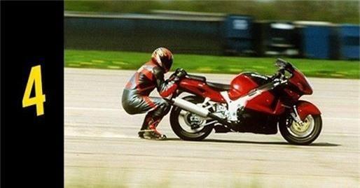 10 kỷ lục 'dị' nhất thế giới về mô tô