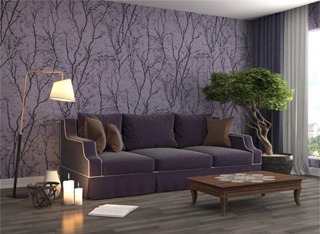 4 ý tưởng trang trí nhà với màu tím cho không gian hiện đại, gợi cảm - Ảnh 1.