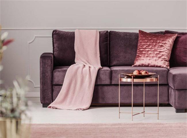 4 ý tưởng trang trí nhà với màu tím cho không gian hiện đại, gợi cảm - Ảnh 10.