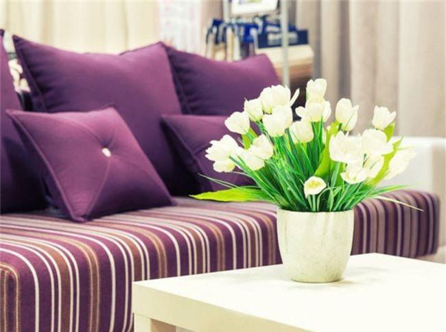 4 ý tưởng trang trí nhà với màu tím cho không gian hiện đại, gợi cảm - Ảnh 6.