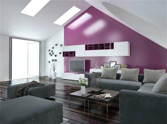 4 ý tưởng trang trí nhà với màu tím cho không gian hiện đại, gợi cảm - Ảnh 7.