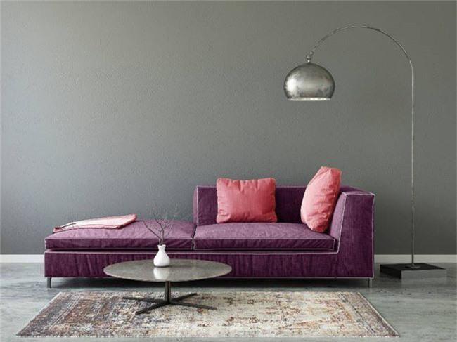 4 ý tưởng trang trí nhà với màu tím cho không gian hiện đại, gợi cảm - Ảnh 8.