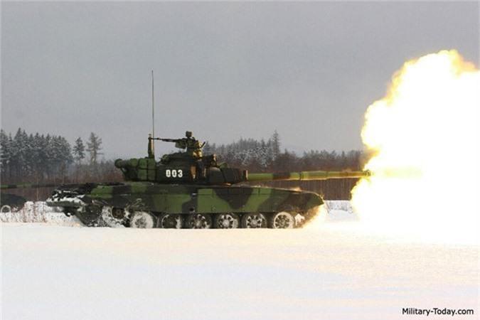 Nga ve NATO, Czech van mo tuong ve xe tang Nga-Hinh-10