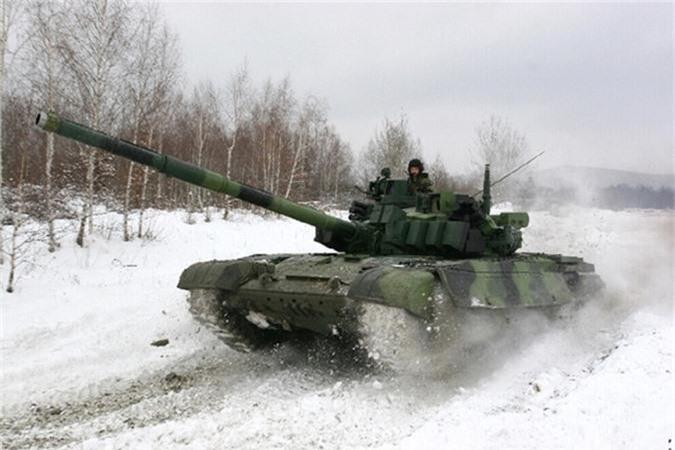 Nga ve NATO, Czech van mo tuong ve xe tang Nga-Hinh-11