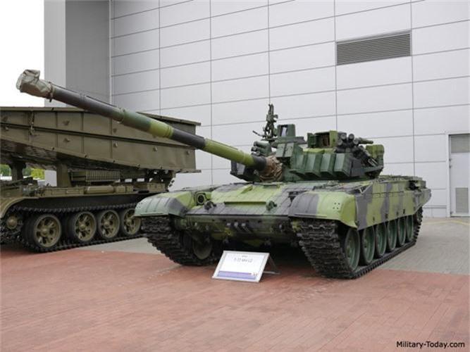 Nga ve NATO, Czech van mo tuong ve xe tang Nga-Hinh-6