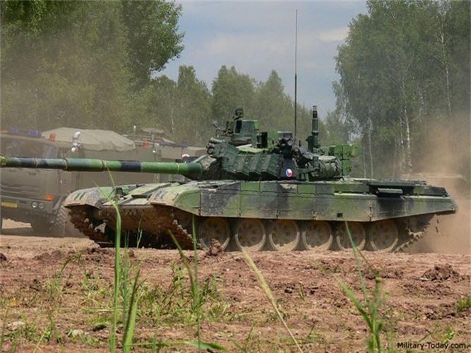 Nga ve NATO, Czech van mo tuong ve xe tang Nga-Hinh-8