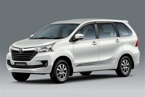 Toyota Avanza (doanh số: 7.362 chiếc).