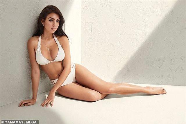 Georgina Rodriguez khoe thân hình quyến rũ trong bộ ảnh quảng cáo mới của Yamamay