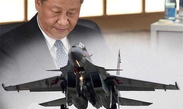 Chủ tịch Trung Quốc Tập Cận Bình đang xem xét mua máy bay chiến đấu tiên tiến hơn của Nga, bất chấp lệnh trừng phạt của Mỹ. (Nguồn: GETTY)
