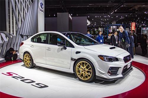 Subaru WRX STI S209 2019.
