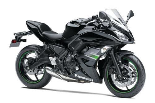 9. Kawasaki Ninja 650 2019 (giá: 7.399 euro).