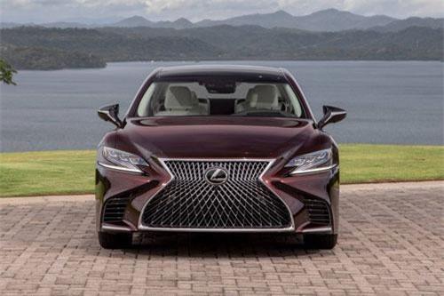 Lexus LS 500 Inspiration 2020.