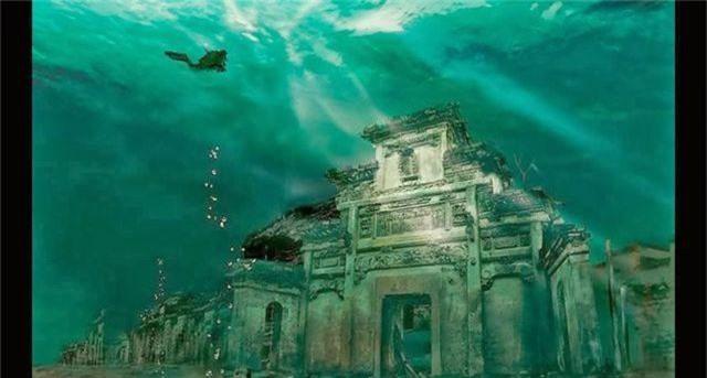 Thành phố cổ đại dưới đáy hồ suốt nghìn năm còn vẹn nguyên - 2
