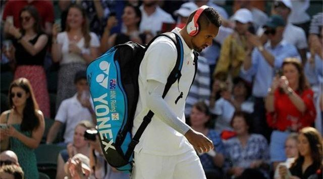 Wimbledon 2019: Cố tình đánh bóng vào ngực Nadal, Kyrgios từ chối xin lỗi - Ảnh 2.