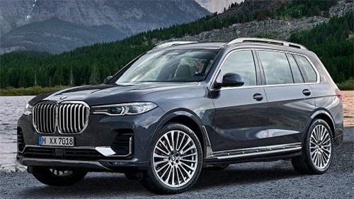 BMW X7 chính thức ra mắt thị trường Việt