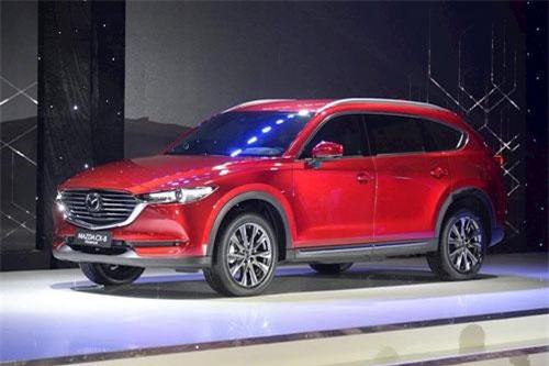 Mazda CX-8. Ảnh: ICTNews.