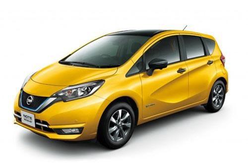 2. Nissan Note (doanh số: 12.075 chiếc).