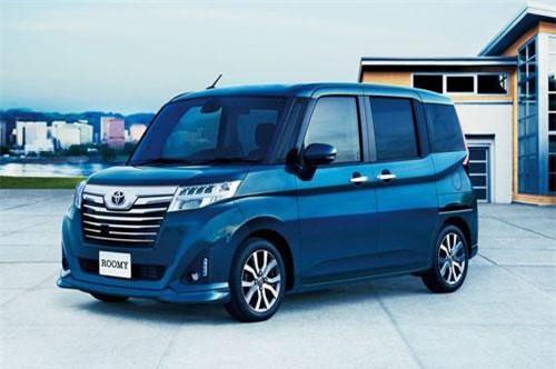 7. Toyota Roomy (doanh số: 8.338 chiếc).