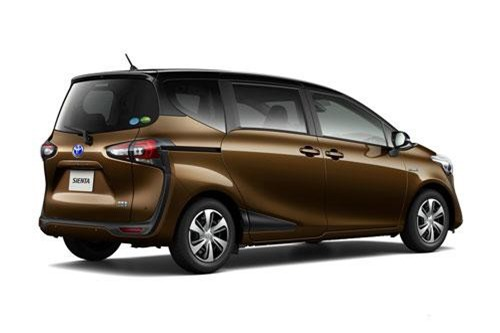 8. Toyota Sienta (doanh số: 7.981 chiếc).