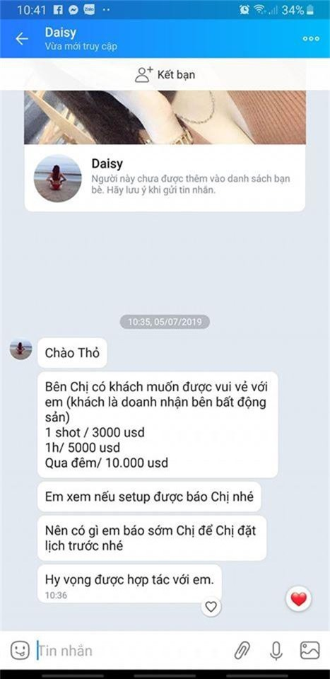 "hot girl mai tho ""soc het hon"" vi bi ga tinh gia ""khung"" 5.000 usd/gio hinh anh 3"