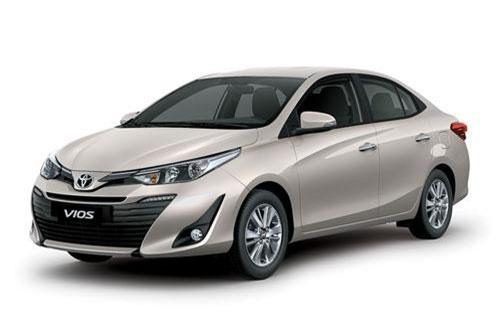 1. Toyota Vios (doanh số: 3.403 chiếc).
