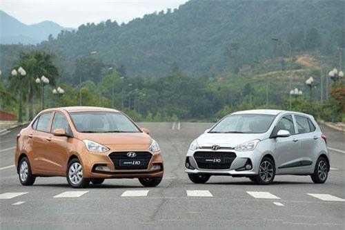 3. Hyundai Grand i10 (doanh số: 1.609 chiếc).