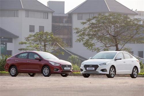 4. Hyundai Accent (doanh số: 1.464 chiếc).