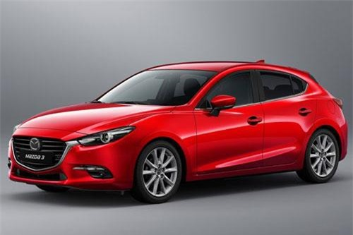 6. Mazda 3 (doanh số: 1.019 chiếc).