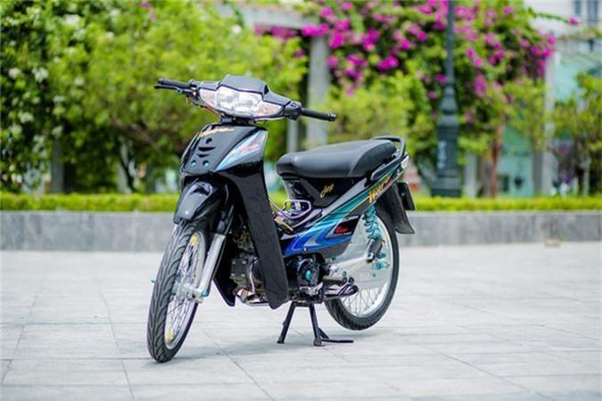 Honda Wave 110 voi goi do gan 200 trieu cua biker Ha Noi