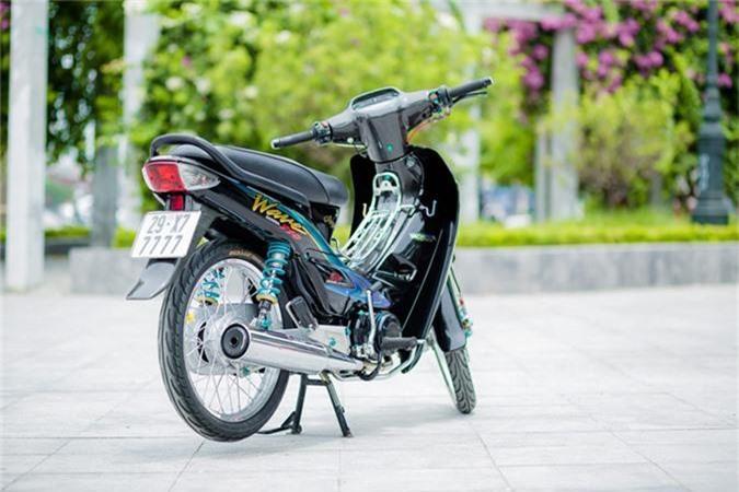Honda Wave 110 voi goi do gan 200 trieu cua biker Ha Noi-Hinh-2
