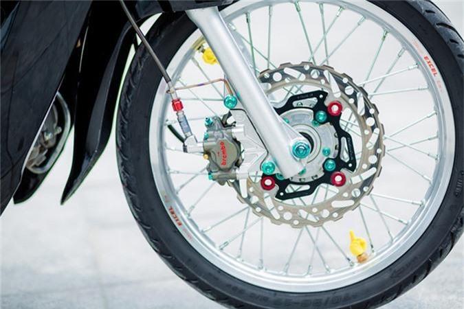 Honda Wave 110 voi goi do gan 200 trieu cua biker Ha Noi-Hinh-8