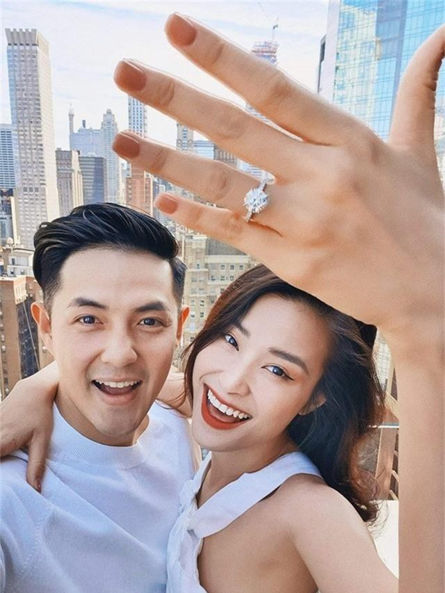 Sau 10 năm hẹn hò, cuối cùng Ông Cao Thắng và Đông Nhi đã đính hôn - Ảnh 1.