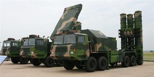 Hệ thống tên lửa phòng không tầm xa HQ-9 của Trung Quốc. Ảnh: Sino Defence.