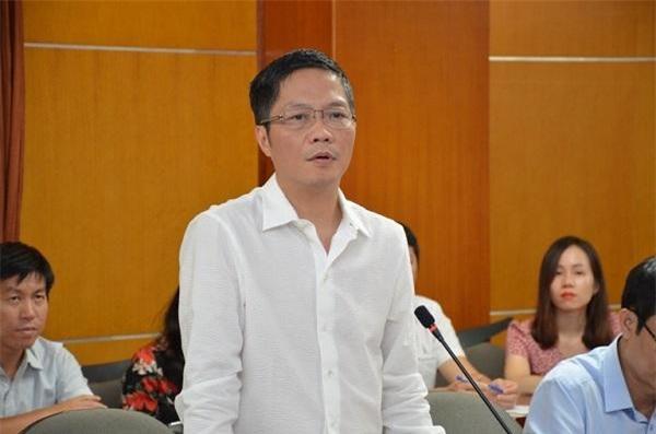 Bộ trưởng Bộ Công Thương Trần Tuấn Anh phát biểu tại buổi làm việc.