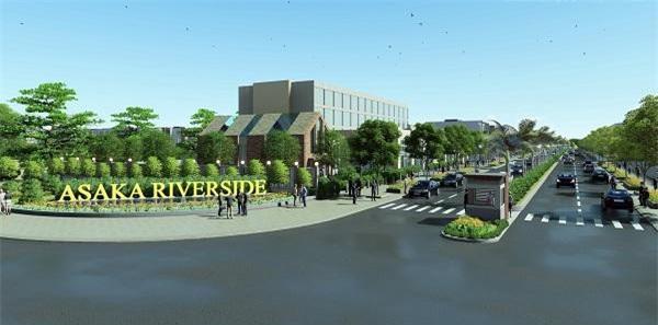 Dự án Asaka Riverside được phát triển với xu hướng hiện đại, chuẩn phong cách sống