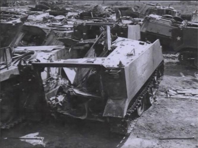 "Kinh hoang ""nghia dia"" xe thiet giap M113 trong Chien tranh Viet Nam"