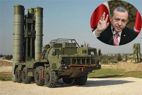 Tổng thống Erdogan tuyên bố, Thổ Nhĩ Kỳ sẵn sàng sử dụng S-400 nếu bị tấn công.