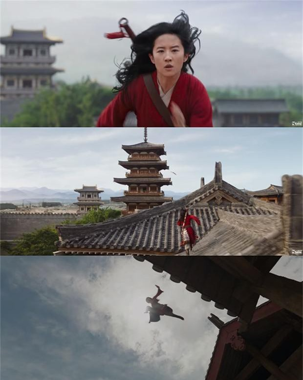 Tạo hình mặt mộc, tóc rối của Lưu Diệc Phi trong 'Mulan' gây bão mạng xã hội - ảnh 10