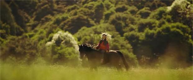 Tạo hình mặt mộc, tóc rối của Lưu Diệc Phi trong 'Mulan' gây bão mạng xã hội - ảnh 3