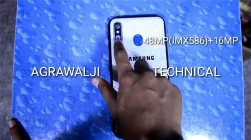Video mới về Samsung Galaxy M60 đã được tiết lộ